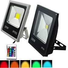 Led Outdoor Spot Lighting by Online Get Cheap Rgb Led Flood Lights Outdoor Aliexpress Com