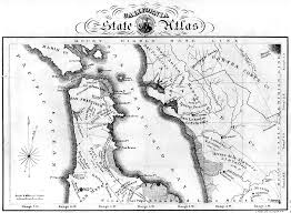 Map Of San Francisco Area by San Francisco Historical Maps