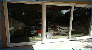 Patio Door With Pet Door Built In Sliding Patio Screen Door Pet Guard Archives Patio Design