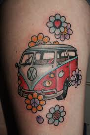 vw bus tattoo designs pictures to pin on pinterest tattooskid