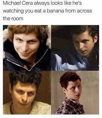 Michael Cera Meme - dopl3r com memes michael cera always looks like hes watching