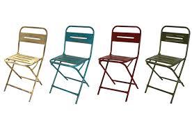chaises pliables chaises métalliques pliables pour les restaurants ou bars