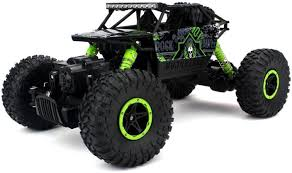 rc monster jam trucks oddeven remote controlled rock through rc monster truck green