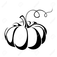black and white halloween background silhouette pumpkin vector black silhouette royalty free cliparts vectors