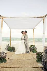wedding arch leaves picture of palm leaves and wicker spheres for aisle and arch decor