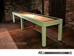 How To Play Table Shuffleboard 12 U0027 Metro Shuffleboard Table Shuffleboard Net