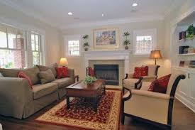 S Bungalow Fireplace Family Room House  Family Room - Bungalow living room design
