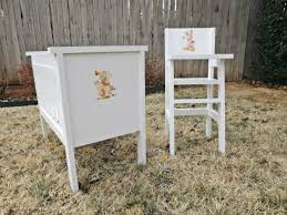 Baby Doll High Chair Set Ana White Fancy Baby Doll Crib And High Chair Diy Projects