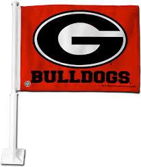 Georgia Flag Rico Georgia Bulldogs Car Flag U0027s Sporting Goods