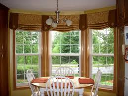 Bright Colorful Kitchen Curtains Inspiration Shocking Kitchen Bay Window Treatment Ideas Homedesignlatestsite
