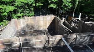 concrete forms foundation walls 7 my garage build hd time