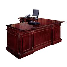 Solid Wood L Shaped Desk Impressive Marvelous L Shaped Executive Desk Mahogany And More
