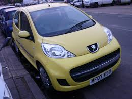 cheap used peugeot used 2007 peugeot 107 urban 5dr for sale in london autotrust cars