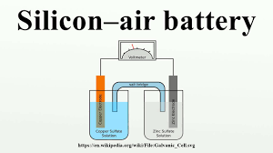 silicon u2013air battery youtube