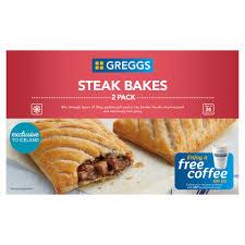 Greggs Halloween Cakes by Greggs 2 Steak Bakes 280g Pasties Quiche U0026 Sausage Rolls