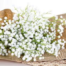 Fake Baby S Breath Popular White Artificial Baby U0027s Breath Flowers Buy Cheap White