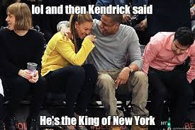 Beyonce And Jay Z Meme - lol and then kendrick said he s the king of new york jay z and