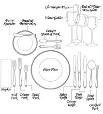 how to set a formal table how to set the table snug hug co formal cutlery table setting