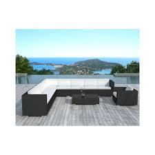 canape tresse exterieur salon de jardin design complet guadeloupe et martinique table
