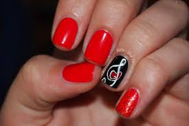 music note nail art nails gallery