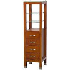 Cherry Bathroom Storage Cabinet by Wyndham Collection Linen Cabinets Bathroom Cabinets U0026 Storage