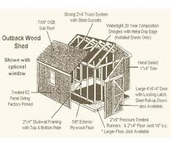1 plans for cheap storage shed post and beam shed plans