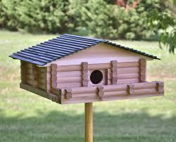 log cabin birdhouse kit plans youtube