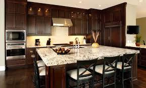 wonderful dark chocolate kitchen cabinets also interior home trend