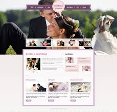 wedding web wedding website template 41282