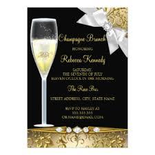 chagne brunch invitations chagne bridal shower invitations announcements zazzle