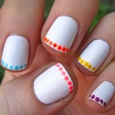 Emejing Easy Cool Nail Designs To Do At Home Ideas Interior - Easy at home nail designs