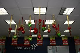 hanging ceiling decorations balls and shaped christmas ceiling decorations large flickr