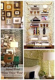 Leopard Print Home Decor Charming Home Decor Prints Patterns Cutting Edge Stencils Animal