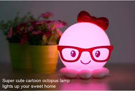 Octopus Light Octopus Rechargeable Led Night Light 9 82 Online Shopping