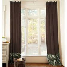 Camo Blackout Curtains Black Off White Geometry Blackout Curtains Anady Top 2 Panels