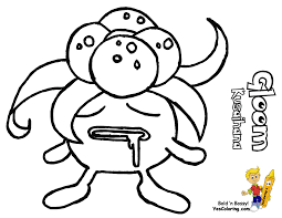 gloom pokemon coloring page images pokemon images
