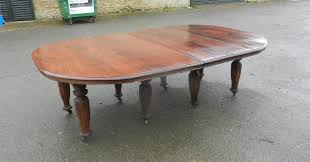 anglo indian campaign antique dining table