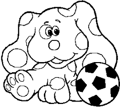 blue u0027s clues coloring pages wecoloringpage