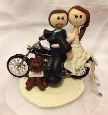bicycle cake topper motorcycle wedding cake topper bike cake topper custom wedding