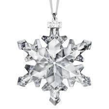 swarovski 2012 annual edition snowflake ornament cart4brand