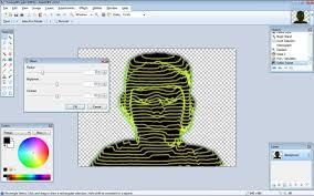 the haxxor effect beginner tutorials paint net forum