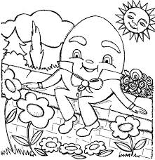 humpty dumpty coloring pages coloring sky