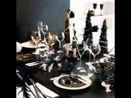 21st Party Decorations Black And White Party Decorations Ideas Youtube