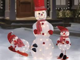 outdoor lighted snowman decorations pavillion home designs