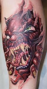tiger ripping through skin tattoos best 25 ripped skin ideas