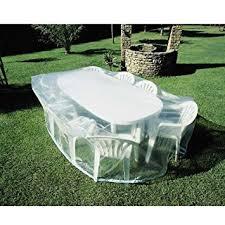 housse pour mobilier de jardin housse transparente pour table de jardin
