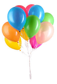 balloons hooray