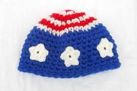 American Flag Beanie American Flag Crochet Hat Pattern Dancox For