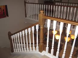 staircase railing at lowes replacing a staircase railing