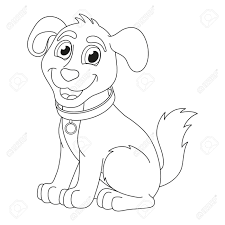 cute dog collar coloring pages coloring